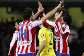 Empate épico del Sporting con dos jugadores menos