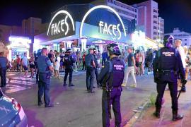 Seis detenidos en otra operación antidroga en clubes de alterne de Punta Ballena