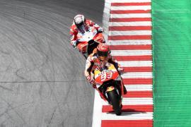 Andrea Dovizioso mantiene la hegemonía de Ducati a pesar de Marc Márquez
