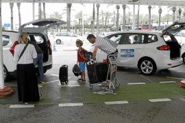 Subir a un taxi en Mallorca: misión muy complicada