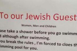 Acusan de antisemitismo a un hotel suizo que pidió a los judíos que se ducharan