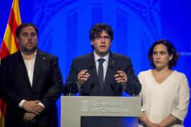 Puigdemont: «Los catalanes hemos sido, somos y seremos gente de paz y acogida»