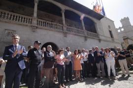 Silencio en Baleares por las víctimas