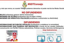 La Guardia Civil pide precaución sobre las publicaciones en redes sociales respecto a los atentados de Barcelona