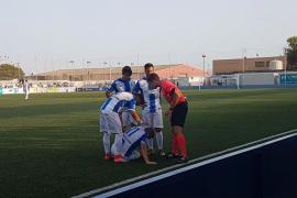 'Gatillazo' del Atlético Baleares en su debut