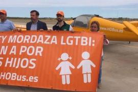 El helicóptero de Hazte Oír volará sobre Palma antes de final de mes