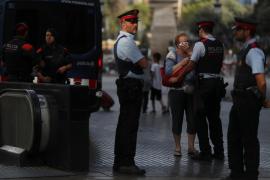 Los Mossos buscan aclarar si el autor del atentado embistió a un control en la Diagonal