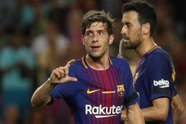 El Barcelona doblega a un Betis poco ambicioso en su estreno en Liga