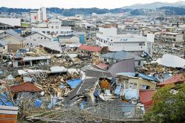 Una ONG mallorquina pone rumbo a Japón para ayudar en las labores humanitarias
