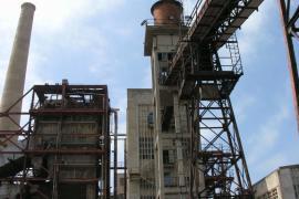 La vieja central eléctrica de Alcanada en Alcúdia es obra del arquitecto Ramón Vázquez Molezún, Medalla de Oro de la Arquitectur
