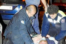 Detenido un hombre por intentar apuñalar a otro en un bar de Palma
