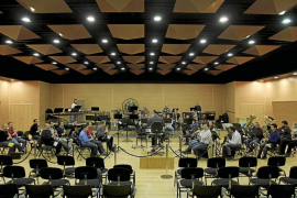 La Banda Municipal de Palma estrena con un concierto su sede en el antiguo cine Odeón