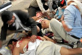 Masacre en Yemen con decenas de manifestantes muertos y heridos