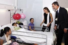 La Casa Real responde a la Generalitat: tenía permiso para publicar las fotos con los niños heridos en los atentados