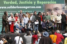 Artistas, sindicalistas y políticos piden el fin de la «persecución» al juez Baltasar Garzón