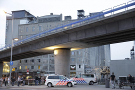 La Policía holandesa detiene a un español tras el hallazgo de la furgoneta en Rotterdam