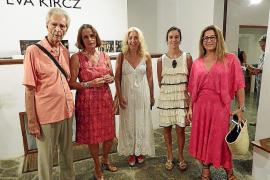 Eva Kircz presenta su obra en Can Prunera