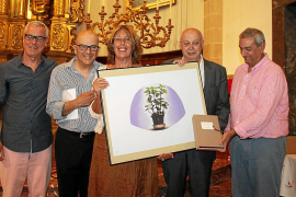 Homenaje a María Massanet en la fiesta Esplendor de la Mediterrània