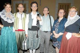 Acto de reconocimiento de la Agrupació Sa Sínia de Consell en su 25 aniversario