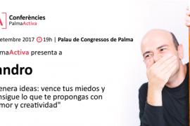 Jandro de 'El Hormiguero' ofrecerá una conferencia gratuita sobre miedos y creatividad en Palma