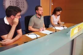 MÉS ensalza la «ejemplaridad» de los Mossos y pide «un cuerpo de policía autonómico» propio