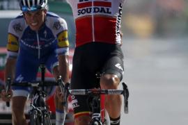 Enric Mas: «Ser tercero en una etapa en mi debut está muy bien»