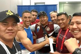Un mallorquín, campeón de boxeo en el 'Police and Fire Games' de Los Ángeles