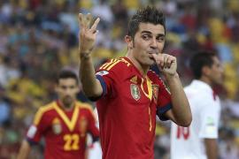 David Villa vuelve a la Selección tres años después