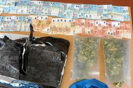 Dos detenidos por vender marihuana en una peluquería abandonada de Palma