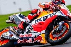 Marc Márquez consigue su cuarta 'pole' consecutiva; Jorge Lorenzo, quinto