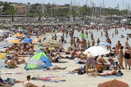 La mayor parte de las zonas turísticas de Mallorca registrará en septiembre unos niveles medios de ocupación hotelera del 80 %.