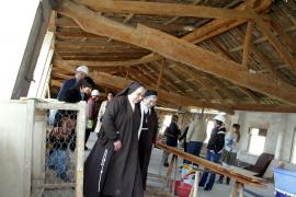 Las obras de rehabilitación de la cubierta del  Convento de les Caputxines de Palma concluirán en agosto