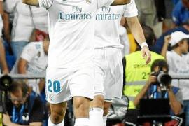 Marco Asensio suaviza el golpe