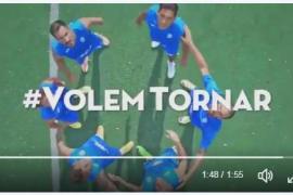 El Atlético Baleares arenga a su hinchada con un nuevo vídeo en la semana del derbi de Palma
