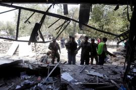 Los talibán reivindican el atentado suicida en el barrio diplomático de Kabul