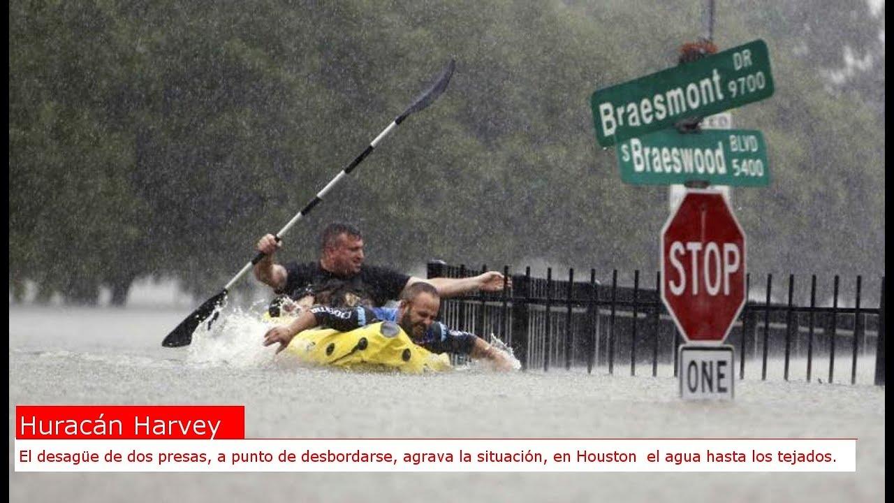 Ordenan evacuar una zona cerca de Houston por el desbordamiento de embalses