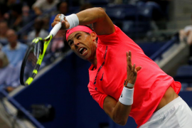Nadal debuta en el abierto de Estados Unidos con triunfo cómodo ante Lajovic