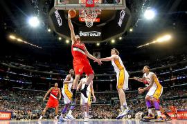 Rudy  Fernández divisa la histórica barrera de los 2.000 puntos en la NBA