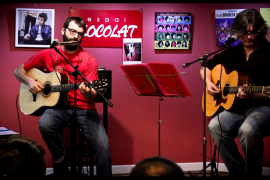 Xavier Escutia y Toni Vives homenajean a Bob Dylan en Santanyí