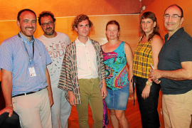Performance de Daniel Amorós en la Fundació Pilar i Joan Miró