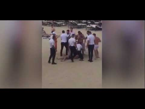 Brutal pelea a las puertas de un beach club de Magaluf