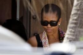Michelle Obama visita Gordiola