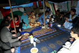 Cort ordena desmantelar la jaima saharaui instalada en el Borne