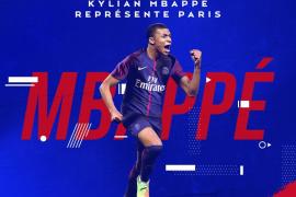 El PSG anuncia el fichaje de Mbappé