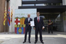 Agustí Benedito pone en marcha la moción de censura contra Bartomeu