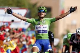 Trentin logra su tercera victoria al sprint en La Vuelta