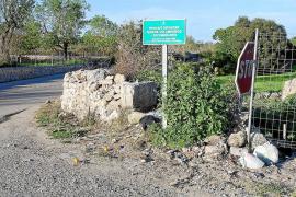 Sanción ejemplar de 1.000 euros a un vecino por tirar basura en 'fora vila'