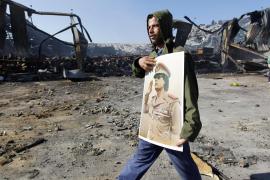 La coalición da por aniquilada toda la fuerza aérea del régimen de Gadafi