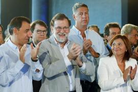 Rajoy afirma que responderá «con total firmeza» al desafío independentista: «Nadie va a liquidar la democracia»