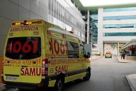 Dos heridos graves en un accidente de tráfico en Llucmajor